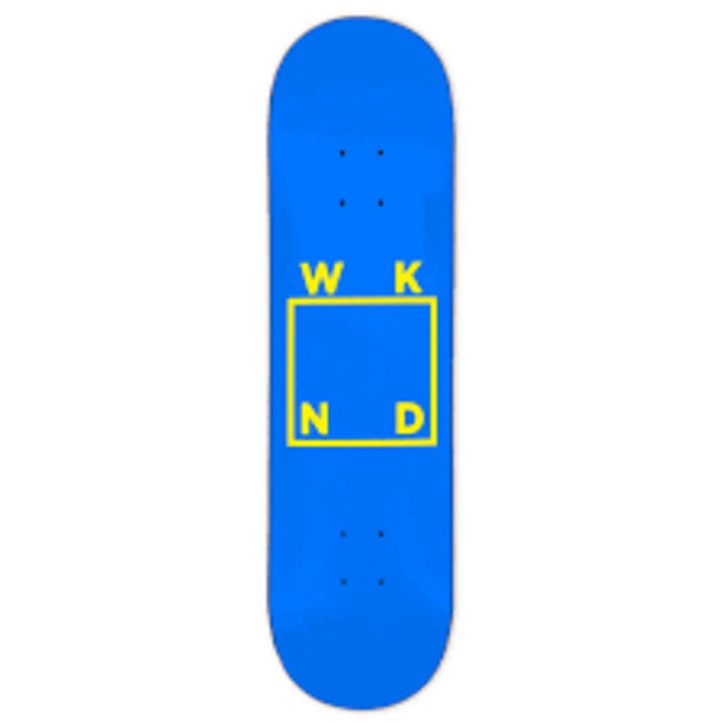 WKND - 8.125 LOGO Blue Yellow