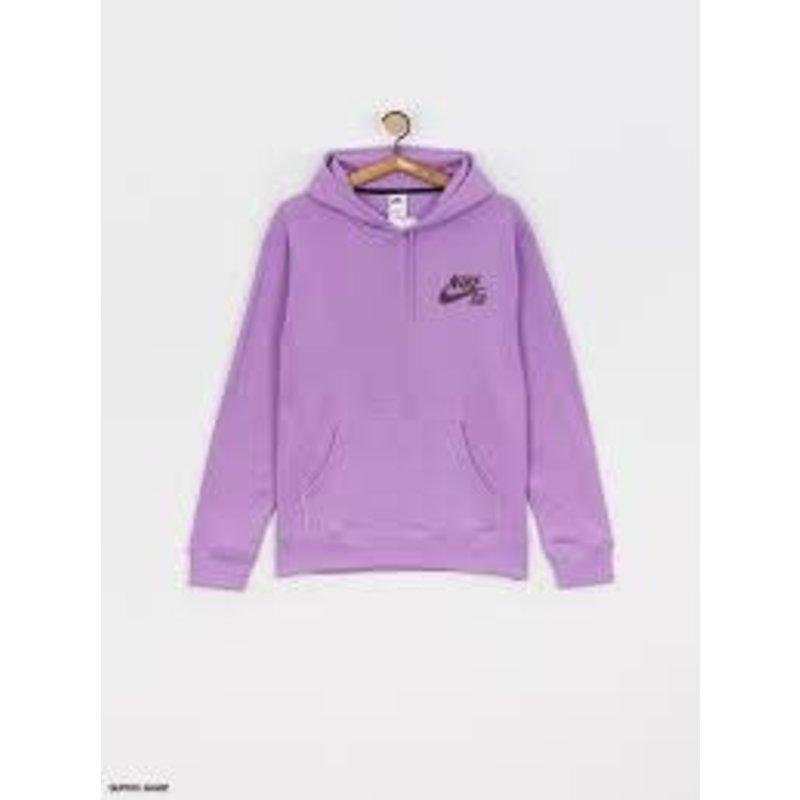 Nike Nike - SB Icon Hoodie Violet Star Dark Wine