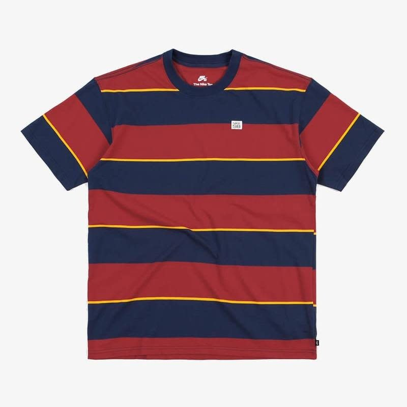 Nike Nike - SB Tee YD Stripe Red Blue Gold