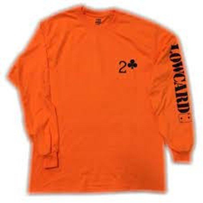 Low Card Low Card - Work Long Sleeve Orange
