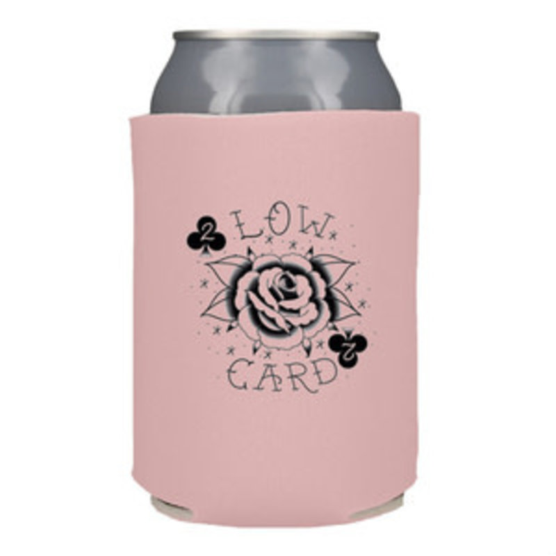 Low Card Low Card - Rose Card Coozie