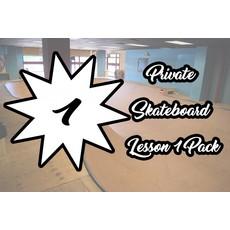 Private Skateboard Lesson 1 Pack