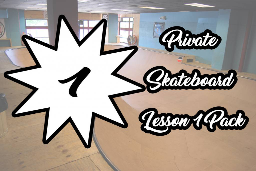 Private Skateboard Lesson 1 Pack