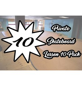 4.Private Skateboard Lesson 10 Pack
