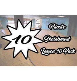 4.Private Skateboard Lesson 10 Pack