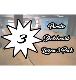 2.Private Skateboard Lesson 3 Pack