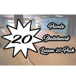 5.Private Skateboard Lesson 20 Pack