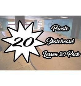 5.Private Skateboard Lesson 20 Pack