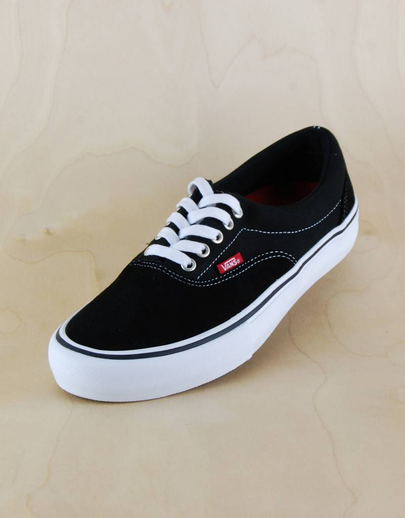 Vans Vans - Era Pro Black White - The Point Skate Shop cc93c1369
