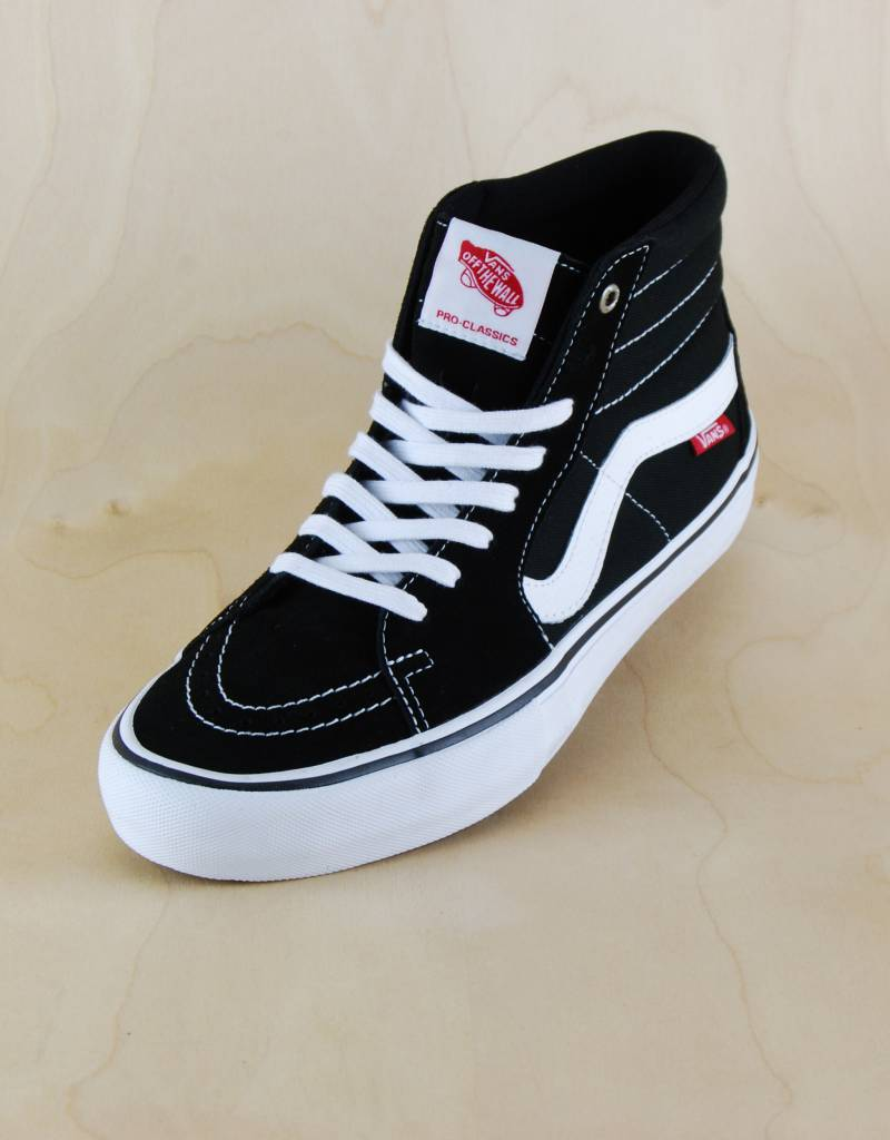 c13dfb590f1 Vans Vans - Sk8-Hi Pro Black White - The Point Skate Shop