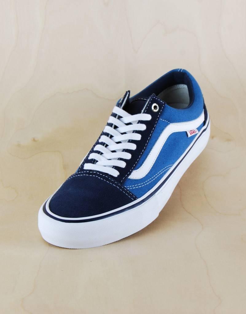 de00d372447 Vans Vans - Old Skool Pro Navy/White - The Point Skate Shop