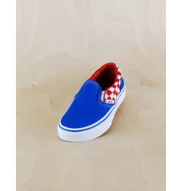 Vans Vans - Classic Slip-On Checkerboard Blue/White/Red