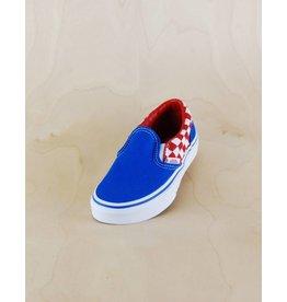 Vans Vans - Classic Slip-On Checkerboard Blue/White/Red