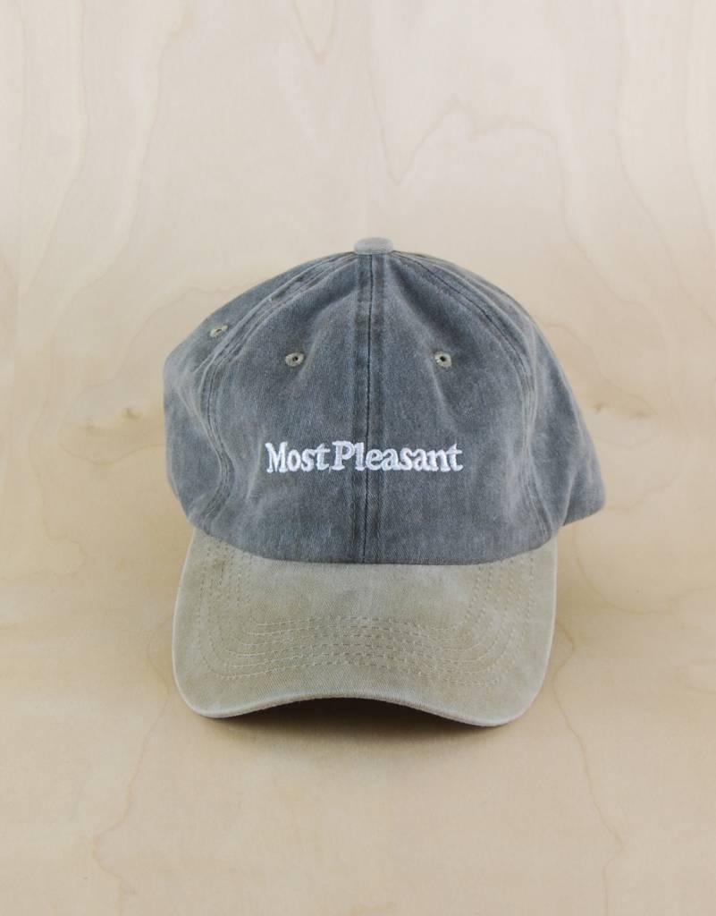 ffb8c8c0600 Most Pleasant - Logo Dad Hat - The Point Skate Shop