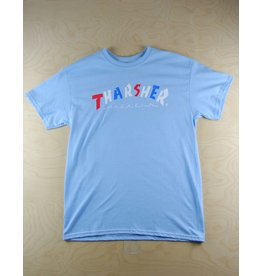 Thrasher Thrasher - Knock Off Tee Light Blue