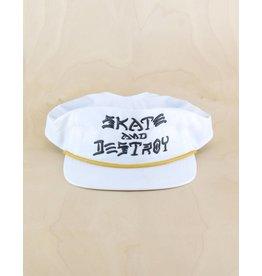 Thrasher Thrasher - Skate & Destroy Puff Ink Snapback