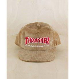 Thrasher Thrasher - Magazine Logo Corduroy Snapback