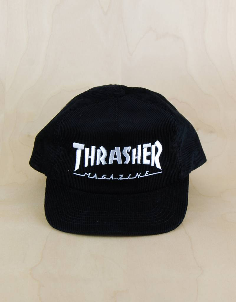 7db912feb17 Thrasher Thrasher - Magazine Logo Corduroy Snapback - The Point ...