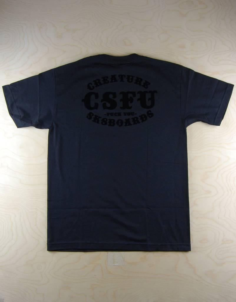 Creature Creature - Club Support Tee Black