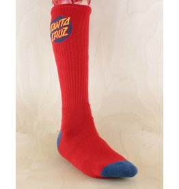 Santa Cruz Santa Cruz - Cruz Crew Socks Red