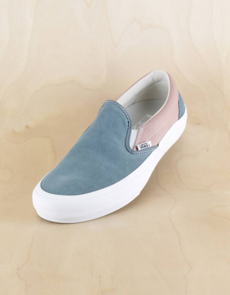 bef751cd099 Vans Slip-On Pro Goblin Blue Mahogany Rose - The Point Skate Shop ...
