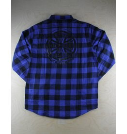 Independent Indy - Production Flannel Blue