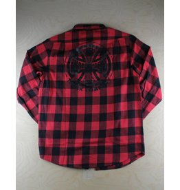 Independent Indy - Production Flannel Red