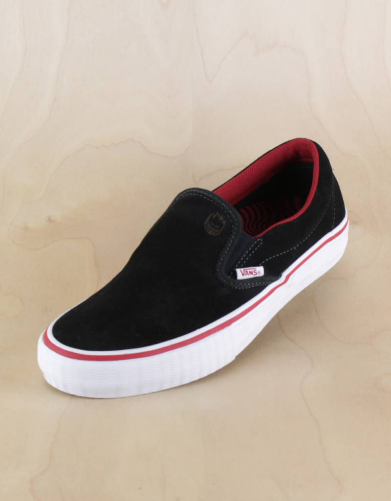 31ffe930e6 Vans - Slip-On Pro Spitfire Black - The Point Skate Shop