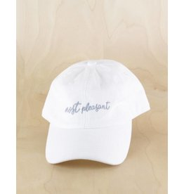 Most Pleasant Most Pleasant - Most Elegant Dad Hat White