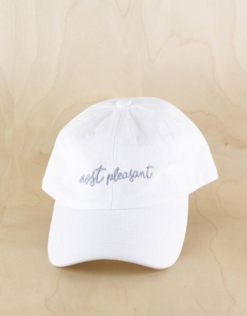 fc0cd7e49a0 Most Pleasant Most Pleasant - Most Elegant Dad Hat White - The Point ...