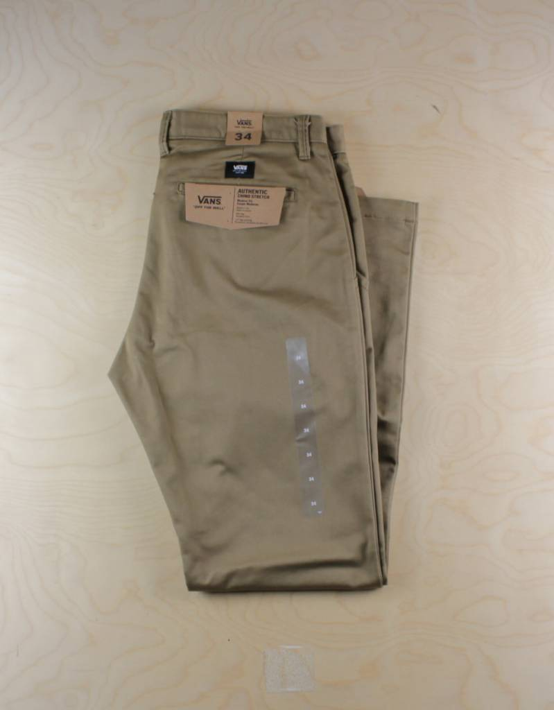 58cf01f75f Vans Vans - Authentic Chino Pant Dirt - The Point Skate Shop - The ...