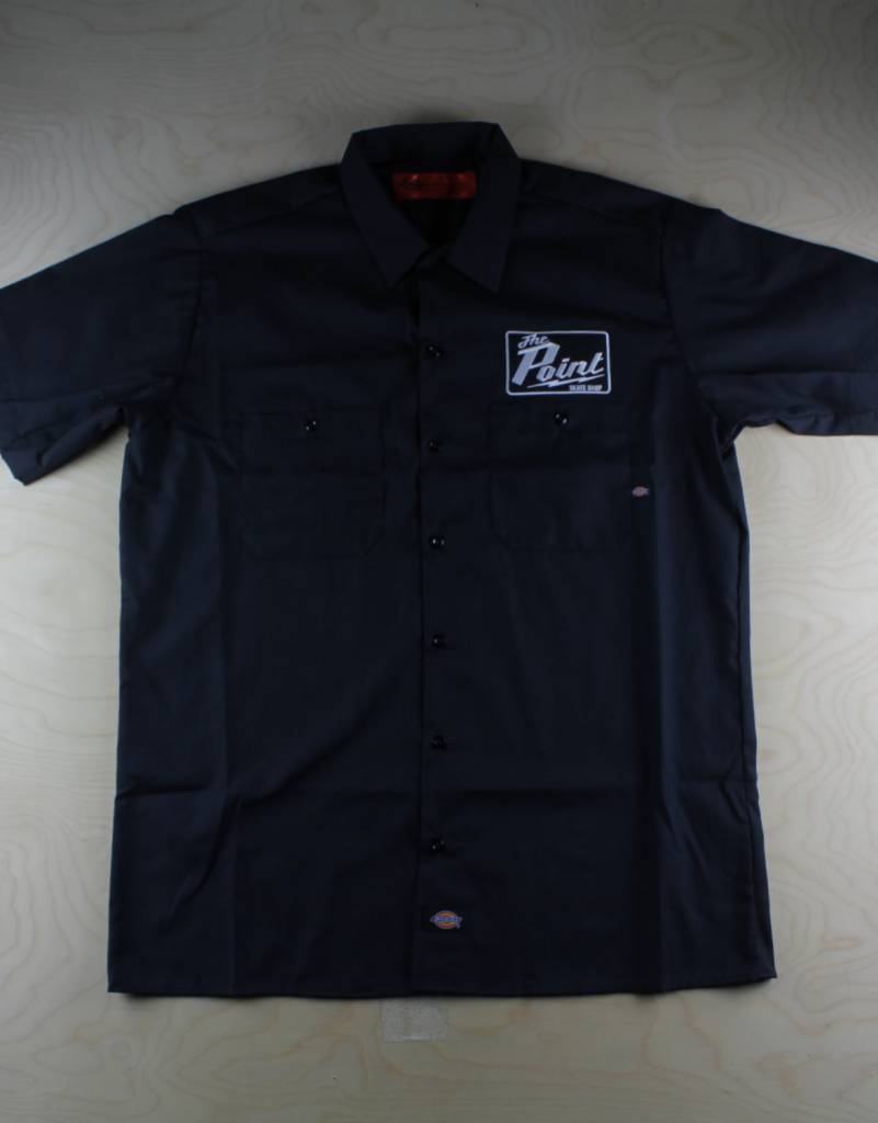 Dickies Dickies - The Point Short Sleeve Work Shirt Black