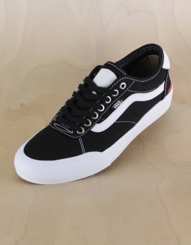 choose newest outlet for sale quality and quantity assured Vans - Chima Pro 2 Black/White - The Point Skate Shop