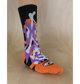 Toy Machine Toy Machine - Barf Sect Sock Multi Orange