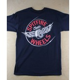 Spitfire Spitfire - Flying Classic S/S Navy/Red