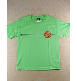 Santa Cruz Santa Cruz - Classic Dot S/S Regular T-Shirt Lime Green