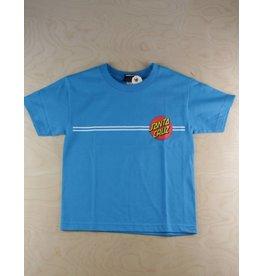 Santa Cruz Santa Cruz - Classic Dot S/S Regular T-Shirt Lime Turquoise
