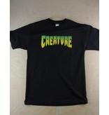 Creature Creature - Logo S/S Regular T-Shirt Black