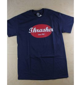 Thrasher Thrasher - Oval T-Shirt Navy/Red
