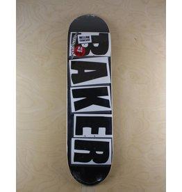 Baker Baker - 8.125 Brand Logo Black/ White