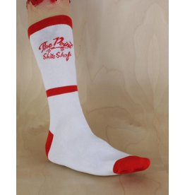 The Point The Point - Logo Sock White/Red
