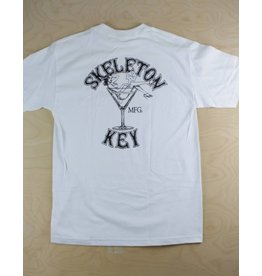 Skelton Key Skeleton Key - Martini Girl White S/S