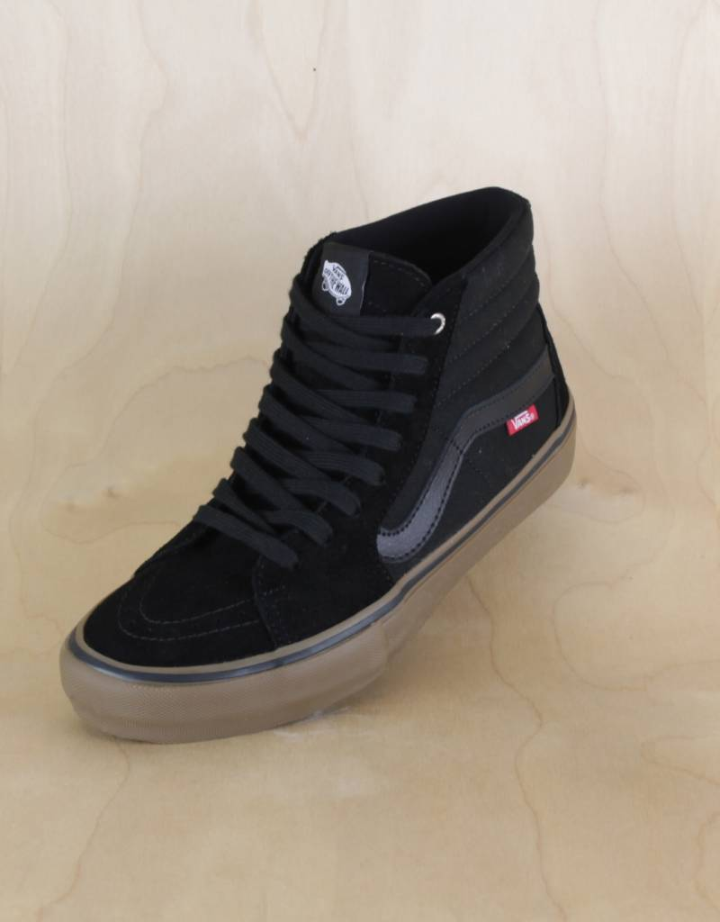Vans - Sk8-Hi Black Gum - The Point Skate Shop 0d82a0083
