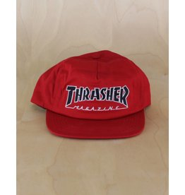 Thrasher Thrasher - Outlined Snapback Red