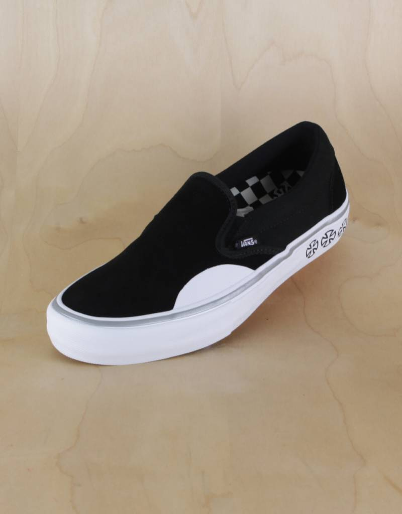 largest selection of superior performance beautiful and charming Vans - Independent Slip-On Black/White