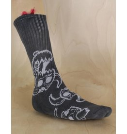 Toy Machine Toy Machine - Monster Skull Sock Charcoal