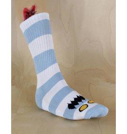Toy Machine Toy Machine - Monster Big Stripe Sock Light Blue