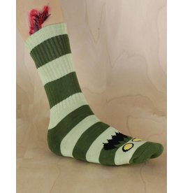 Toy Machine Toy Machine - Monster Big Stripe Sock Green