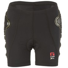 G-Form INV G-Form Pro-B Women's Compression Shorts with Chamois: Black/Yellow MD