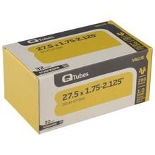 """Q-Tubes Q-Tube Value Series Tube with Schrader Valve: 27.5"""" x 1.75-2.125"""""""